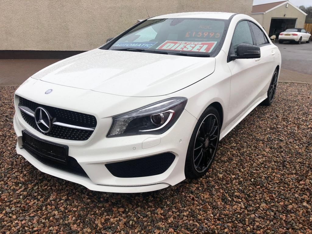 2016 Mercedes CLA-Class CLA  220d  AMG  Line  4dr  Tip  Auto Diesel Semi-Automatic  – Philip McGarrity Cars Newtownabbey