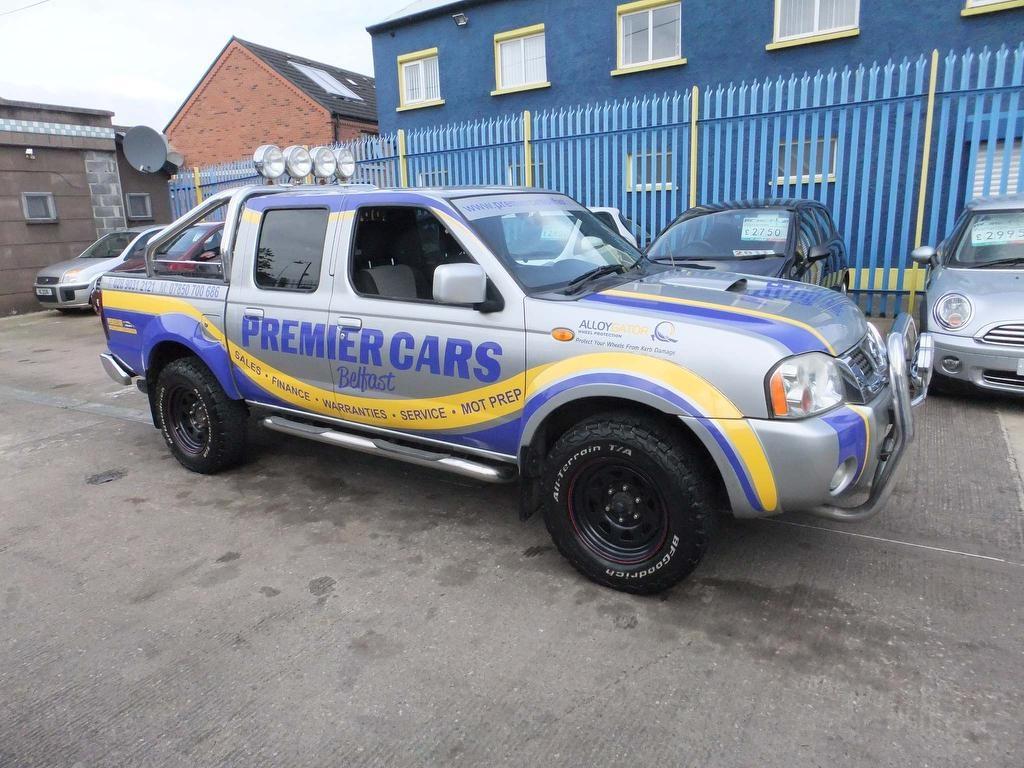 2004 NISSAN Navara 2.5 Di Sport Crewcab Pickup Diesel Manual  – Premier Cars Belfast Belfast full