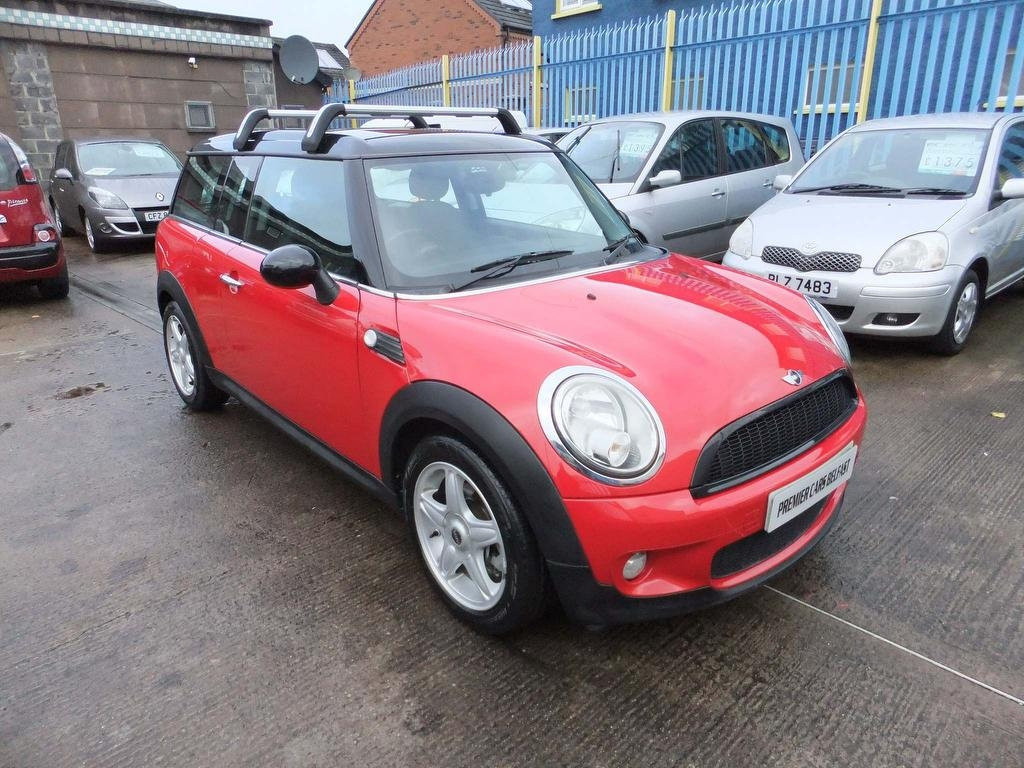 2008 MINI Clubman 1.6 Cooper Petrol Manual THIS CAR IS CATEGORY:  (D) – Premier Cars Belfast Belfast