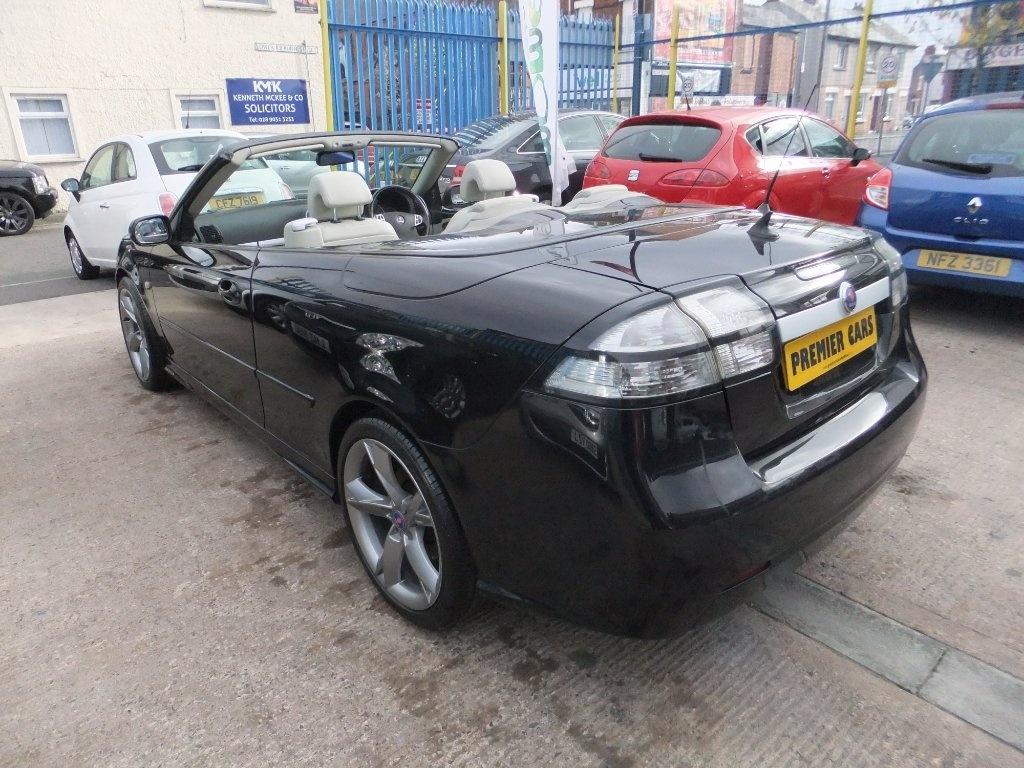 2007 SAAB 9-3 1.9 TiD Vector Diesel Manual 2 KEYS – Premier Cars Belfast Belfast full
