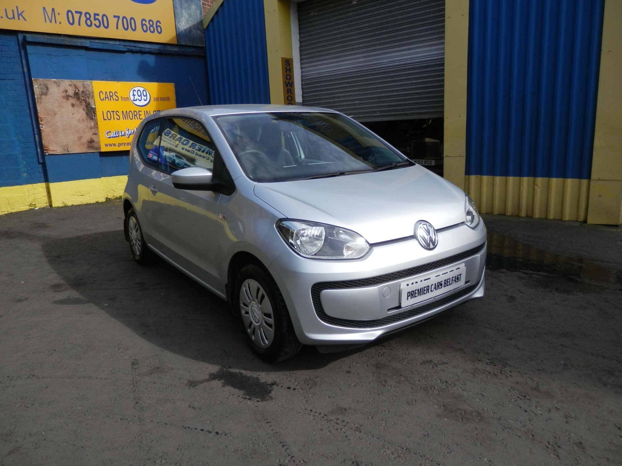 2012 VOLKSWAGEN up! 1.0 Move Petrol Manual  – Premier Cars Belfast Belfast