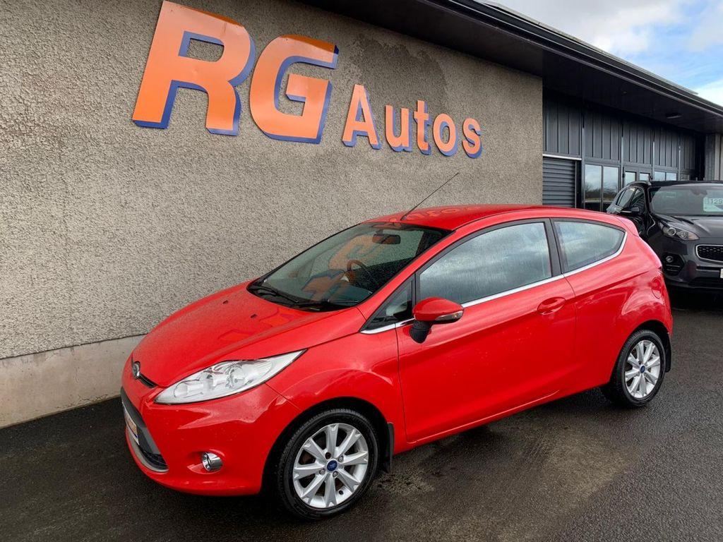 2011 Ford Fiesta 1.2 ZETEC Petrol Manual  – RG Autos Ballymoney full