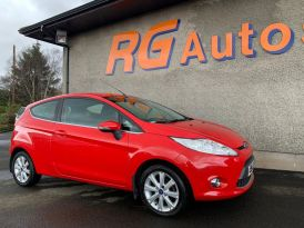 2011 Ford Fiesta 1.2 ZETEC Petrol Manual  – RG Autos Ballymoney