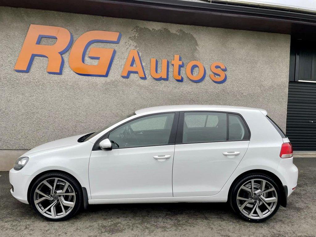 2012 Volkswagen Golf 1.6 MATCH TDI Diesel Manual  – RG Autos Ballymoney full