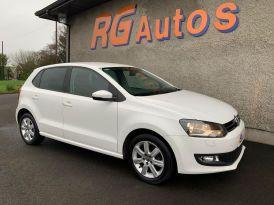 2012 Volkswagen Polo 1.4 MATCH Petrol Manual  – RG Autos Ballymoney