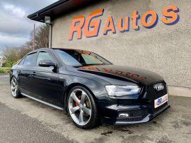 2013 Audi A4 2.0 TDI BLACK EDITION START/STOP Diesel Cvt  – RG Autos Ballymoney