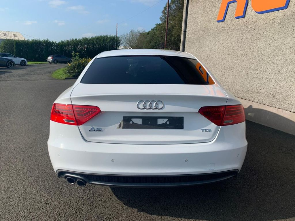 2013 Audi A5 2.0 SPORTBACK TDI BLACK EDITION S/S Diesel Manual HEATED SEATS-BANG & OLUFSEN SOUND-FULL SERVICE HISTORY – RG Autos Ballymoney full