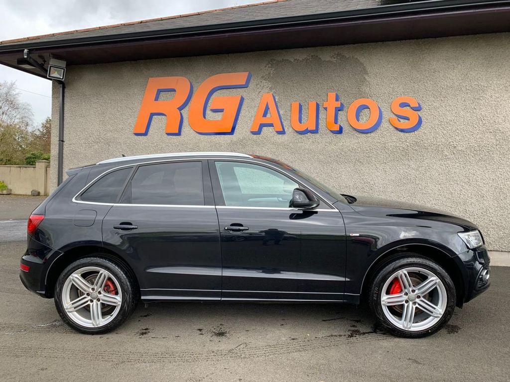 2013 Audi Q5 2.0 TDI QUATTRO S LINE PLUS Diesel Automatic  – RG Autos Ballymoney full