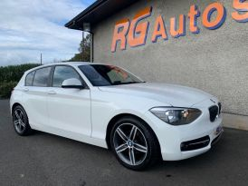 2013 BMW 1 Series 2.0 118D SPORT Diesel Manual  – RG Autos Ballymoney