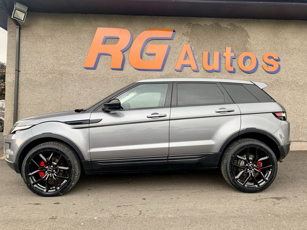 2013 Land Rover Range Rover Evoque 2.2 SD4 PURE TECH Diesel Automatic  – RG Autos Ballymoney full