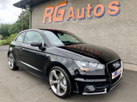 2014 Audi A1 1.6 TDI S LINE Diesel Manual  – RG Autos Ballymoney