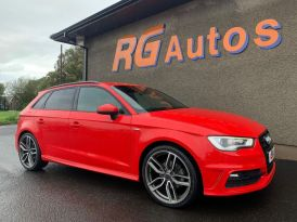 2014 Audi A3 1.6 TDI S LINE Diesel Manual  – RG Autos Ballymoney