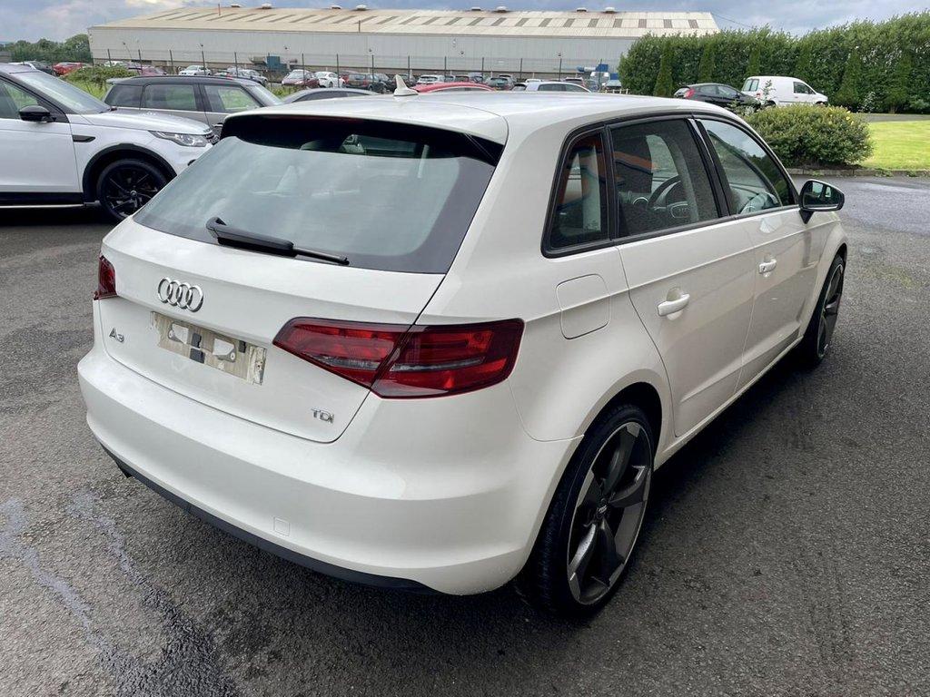 2014 Audi A3 1.6 TDI SE Diesel Manual  – RG Autos Ballymoney full