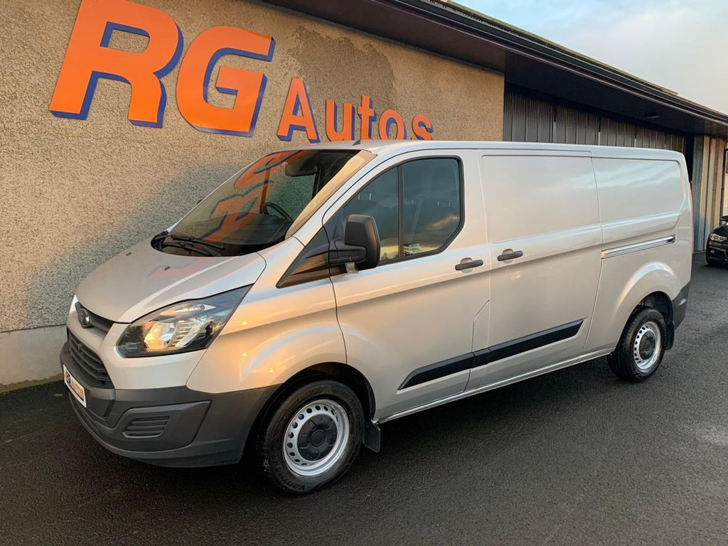 2014 Ford TRANSIT CUSTOM 2.2 290 LR P/V Diesel Manual  – RG Autos Ballymoney full