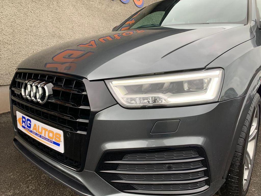 2015 Audi Q3 2.0 TDI QUATTRO S LINE Diesel Manual  – RG Autos Ballymoney full