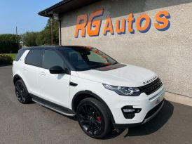 2015 Land Rover Discovery Sport G   2.2 SD4 HSE LUXURY Diesel Automatic  – RG Autos Ballymoney