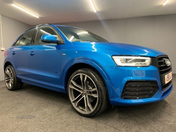 2016 Audi Q3 2.0 TDI S LINE Diesel Manual  – RG Autos Ballymoney full