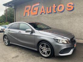2016 Mercedes-Benz A Class A-CLASS 2.1 A 200 D AMG LINE Diesel Semi Auto  – RG Autos Ballymoney