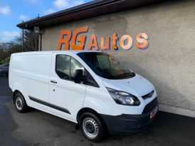 2017 Ford TRANSIT CUSTOM 2.0 290 LR P/V Diesel Manual  – RG Autos Ballymoney