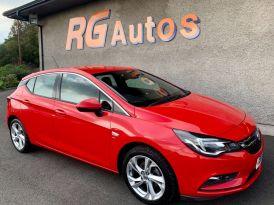 2017 Vauxhall Astra 1.4 SRI Petrol Manual  – RG Autos Ballymoney