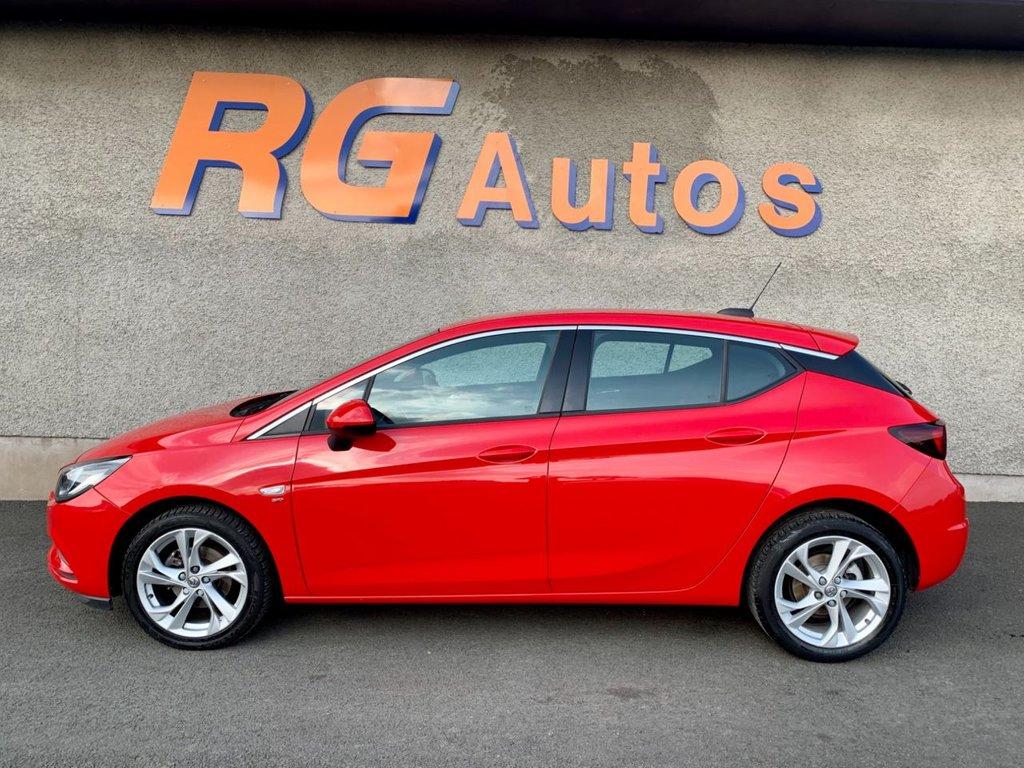 2017 Vauxhall Astra 1.4 SRI Petrol Manual  – RG Autos Ballymoney full