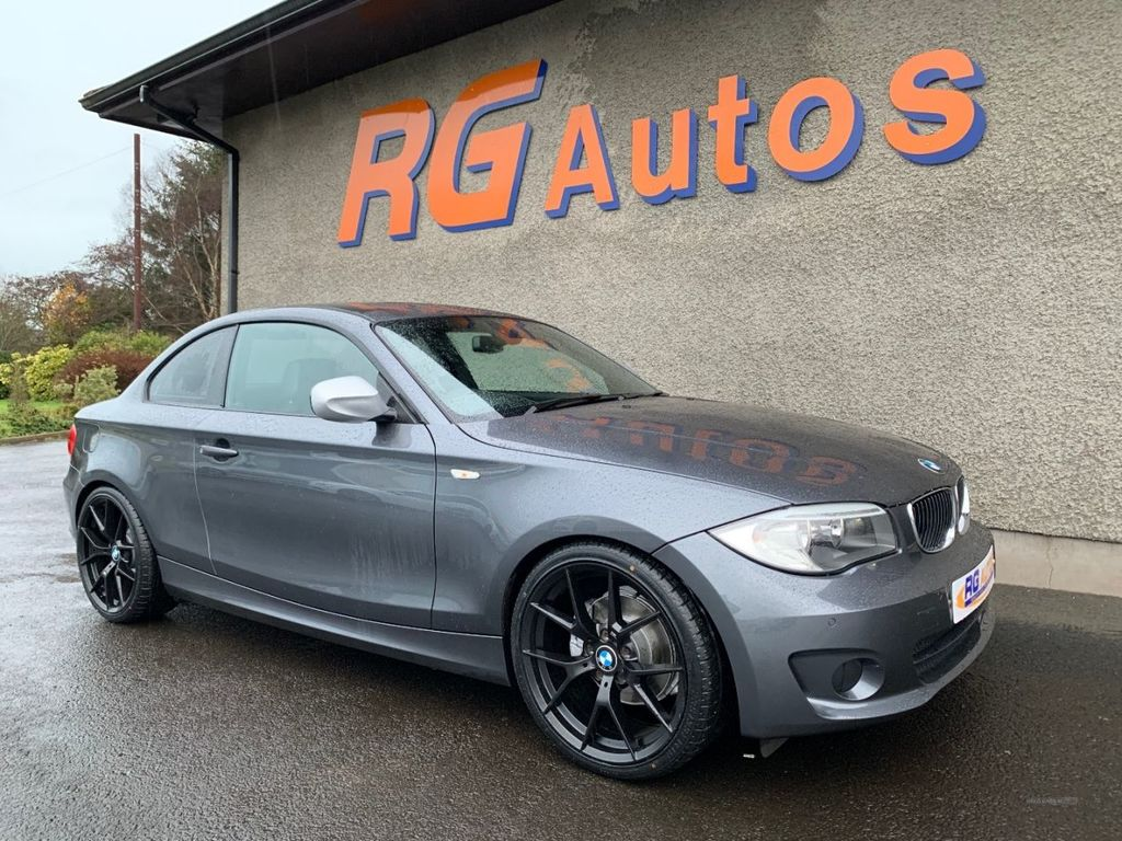 2013 BMW 1 Series 2.0 120D EXCLUSIVE EDITION Diesel Automatic  – RG Autos Ballymoney