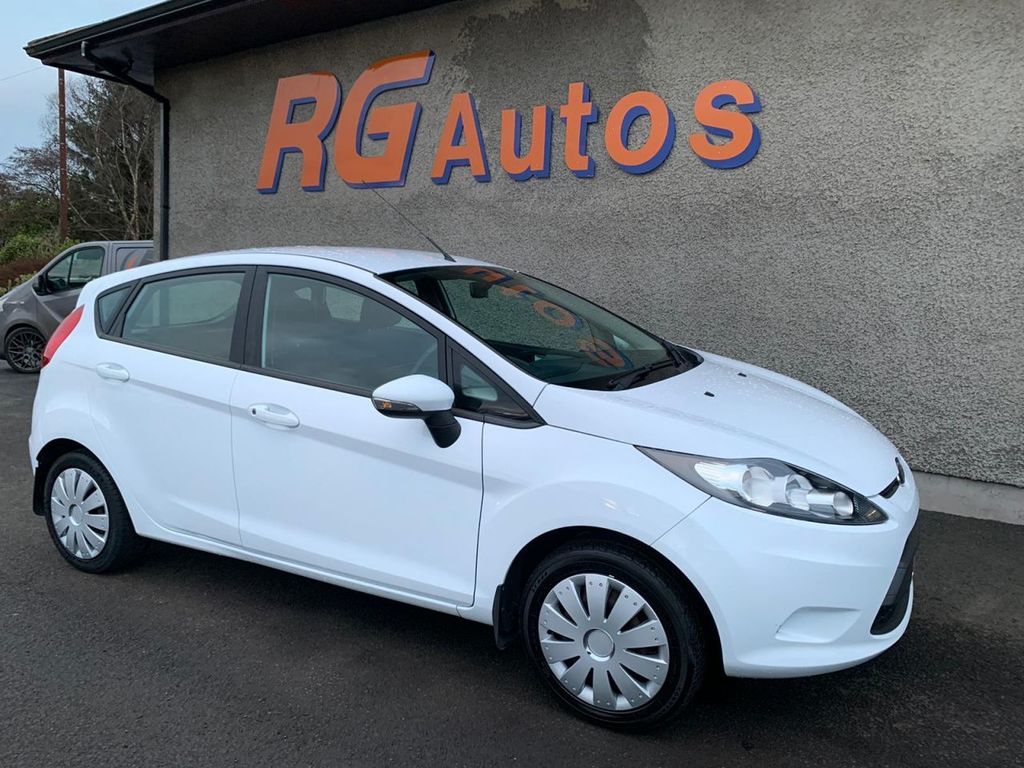 2012 Ford Fiesta 1.2 EDGE Petrol Manual  – RG Autos Ballymoney