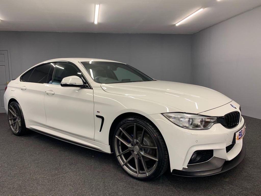 2016 BMW 4 Series 2.0 420D XDRIVE M SPORT GRAN COUPE Diesel Automatic 2016 BMW 420d [190] xDrive M Sport 5dr Auto [Prof Media] – RG Autos Ballymoney
