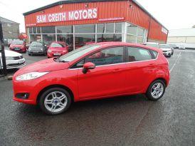 2014 Ford Fiesta 1.0  Zetec  5dr Petrol Manual  – Sam Creith Motors Ballymoney