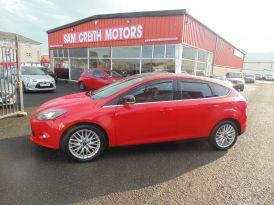 2014 Ford Focus 1.0  EcoBoost  Zetec  5dr Petrol Manual  – Sam Creith Motors Ballymoney