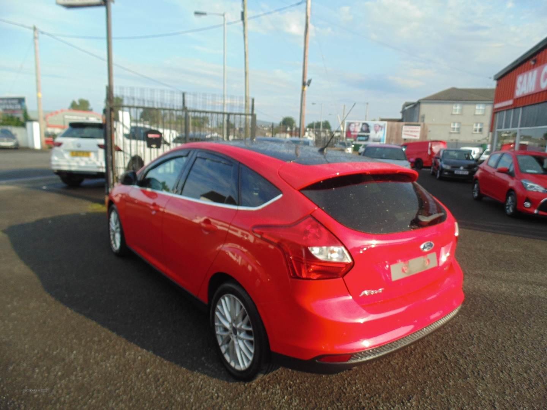 2014 Ford Focus 1.0  EcoBoost  Zetec  5dr Petrol Manual  – Sam Creith Motors Ballymoney full