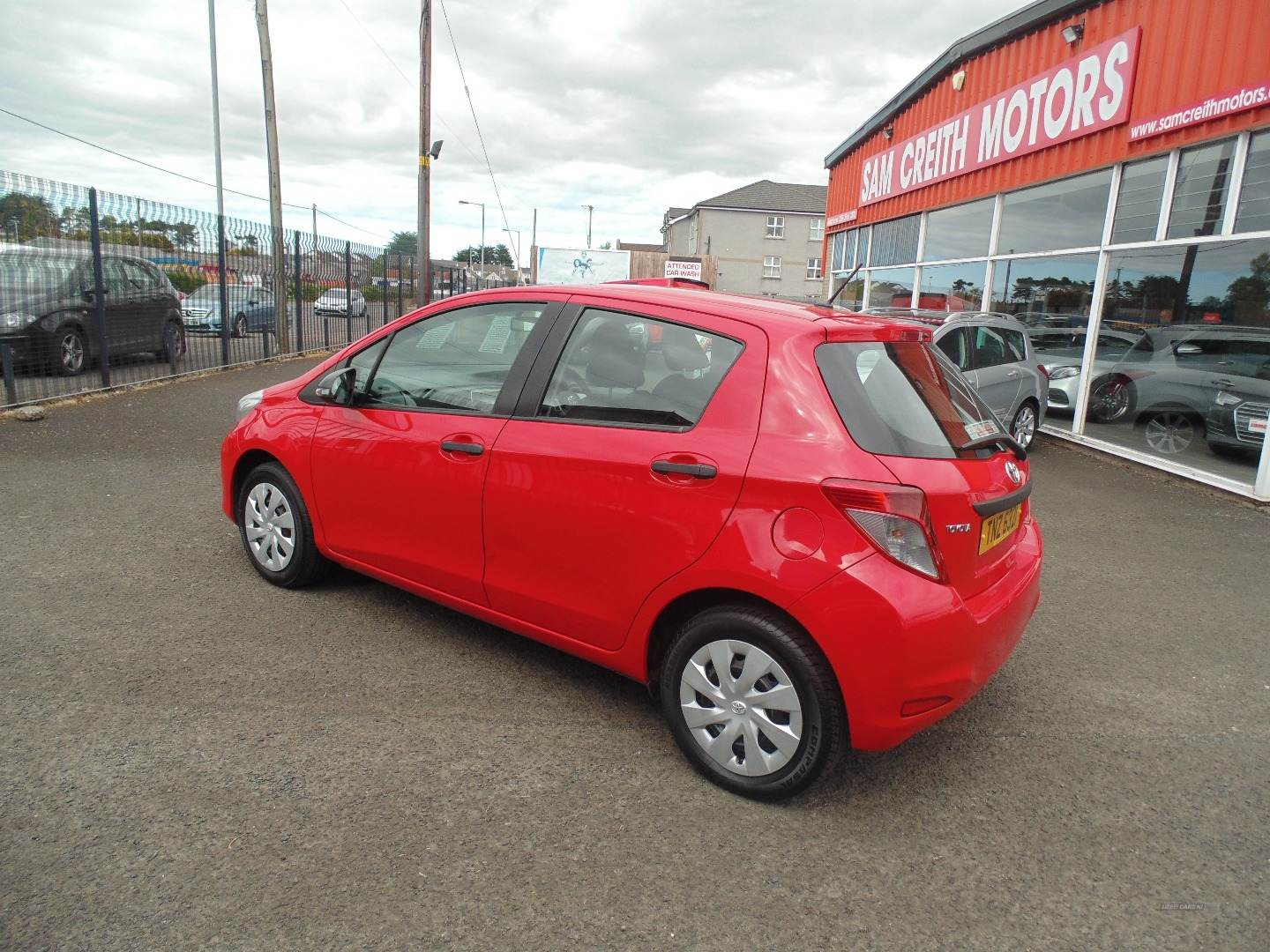 2014 Toyota Yaris 1.0  VVT-i  Active  5dr Petrol Manual  – Sam Creith Motors Ballymoney full