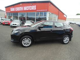 2015 Nissan Qashqai 1.5  dCi  Acenta  [Smart  Vision  Pack]  5dr Diesel Manual  – Sam Creith Motors Ballymoney