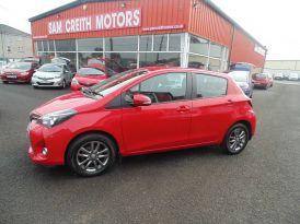 2015 Toyota Yaris 1.33  VVT-i  Icon  5dr  CVT Petrol Automatic  – Sam Creith Motors Ballymoney