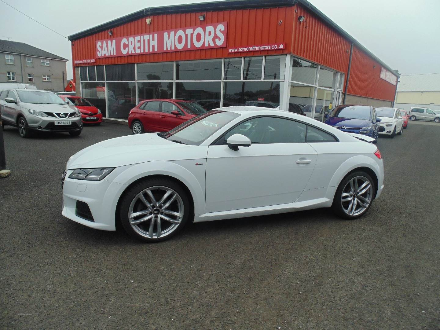 2016 Audi A4 2.0  TDI  S  Line  5dr Diesel Manual  – Sam Creith Motors Ballymoney full