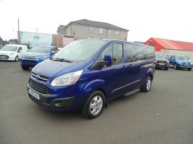 2016 Ford Tourneo 300  LIMITED,  125TDI,  9  SEATER,  LWB Diesel Manual  – Sam Creith Motors Ballymoney