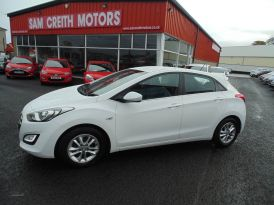 2016 Hyundai i30 1.6  CRDi  Blue  Drive  SE  5dr Diesel Manual  – Sam Creith Motors Ballymoney