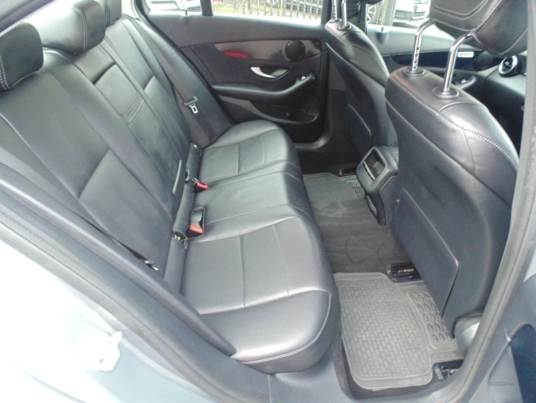 2016 Mercedes C-Class C220d  SE  Executive  4dr Diesel Manual  – Sam Creith Motors Ballymoney full