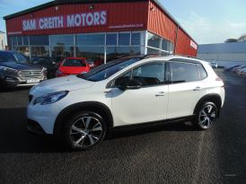 2016 Peugeot 2008 1.6  BlueHDi  120  GT  Line  5dr Diesel Manual  – Sam Creith Motors Ballymoney