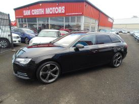 2017 Audi A4 2.0  TDI  Ultra  Sport  5dr  avant+++++ Diesel Manual  – Sam Creith Motors Ballymoney