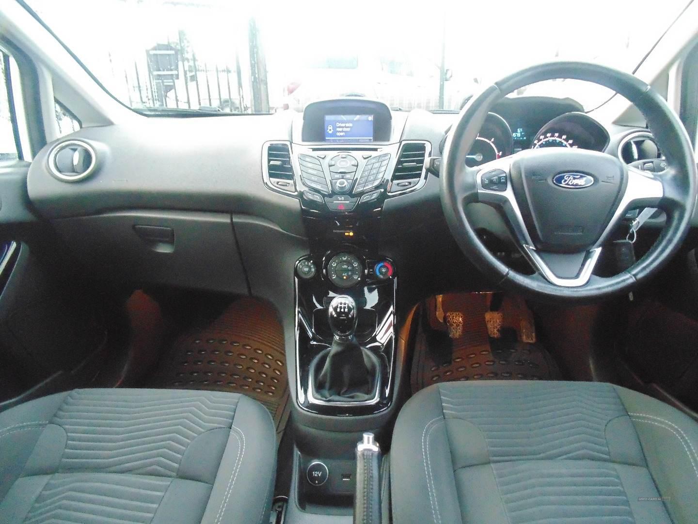 2017 Ford Fiesta 1.5  TDCi  Zetec  5dr Diesel Manual  – Sam Creith Motors Ballymoney full