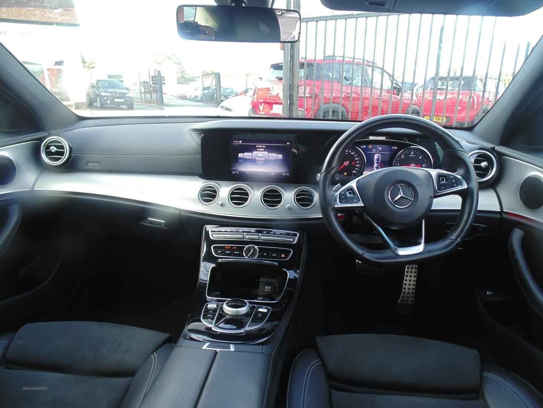 2017 Mercedes E-Class E220d  AMG  Line  4dr  9G-Tronic Diesel Semi-Automatic  – Sam Creith Motors Ballymoney full