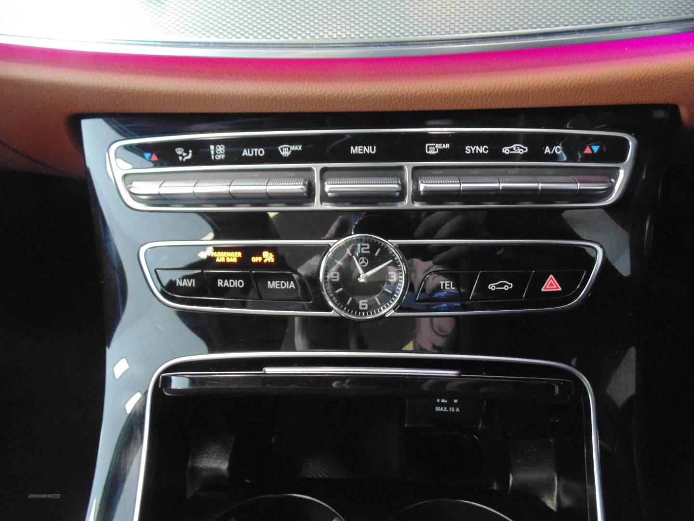 2017 Mercedes E-Class E220d  4Matic  AMG  Line  Premium  Plus  4dr  9G-Tronic Diesel Semi-Automatic  – Sam Creith Motors Ballymoney full