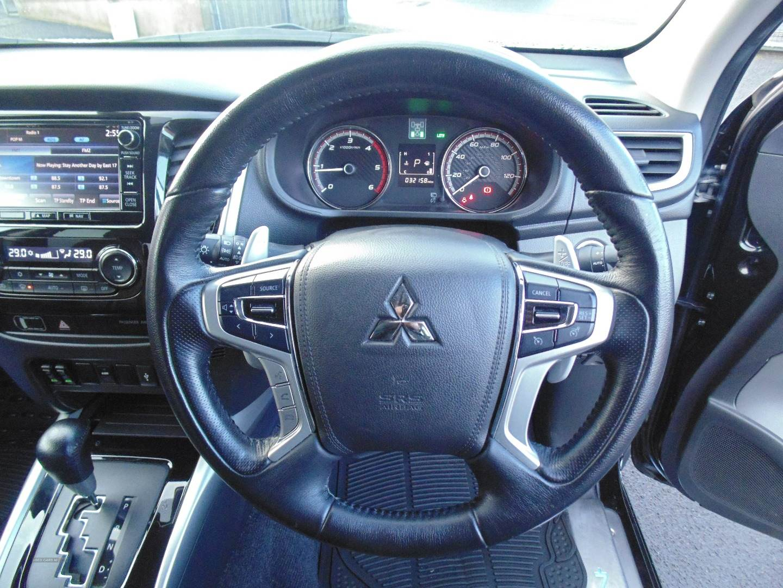 2017 Mitsubishi L200 Double  Cab  DI-D  178  Barbarian  4WD  Auto Diesel Automatic  – Sam Creith Motors Ballymoney full