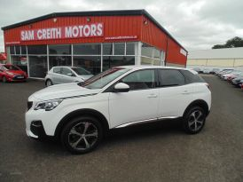 2017 Peugeot 3008 1.6  BlueHDi  120  Allure  5dr Diesel Manual  – Sam Creith Motors Ballymoney