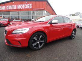 2017 Volvo V40 D4  [190]  R  DESIGN  Nav  Plus  5dr Diesel Manual  – Sam Creith Motors Ballymoney