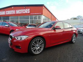 2018 BMW 3 Series 320d  M  Sport  4dr  Step  Auto Diesel Semi-Automatic  – Sam Creith Motors Ballymoney