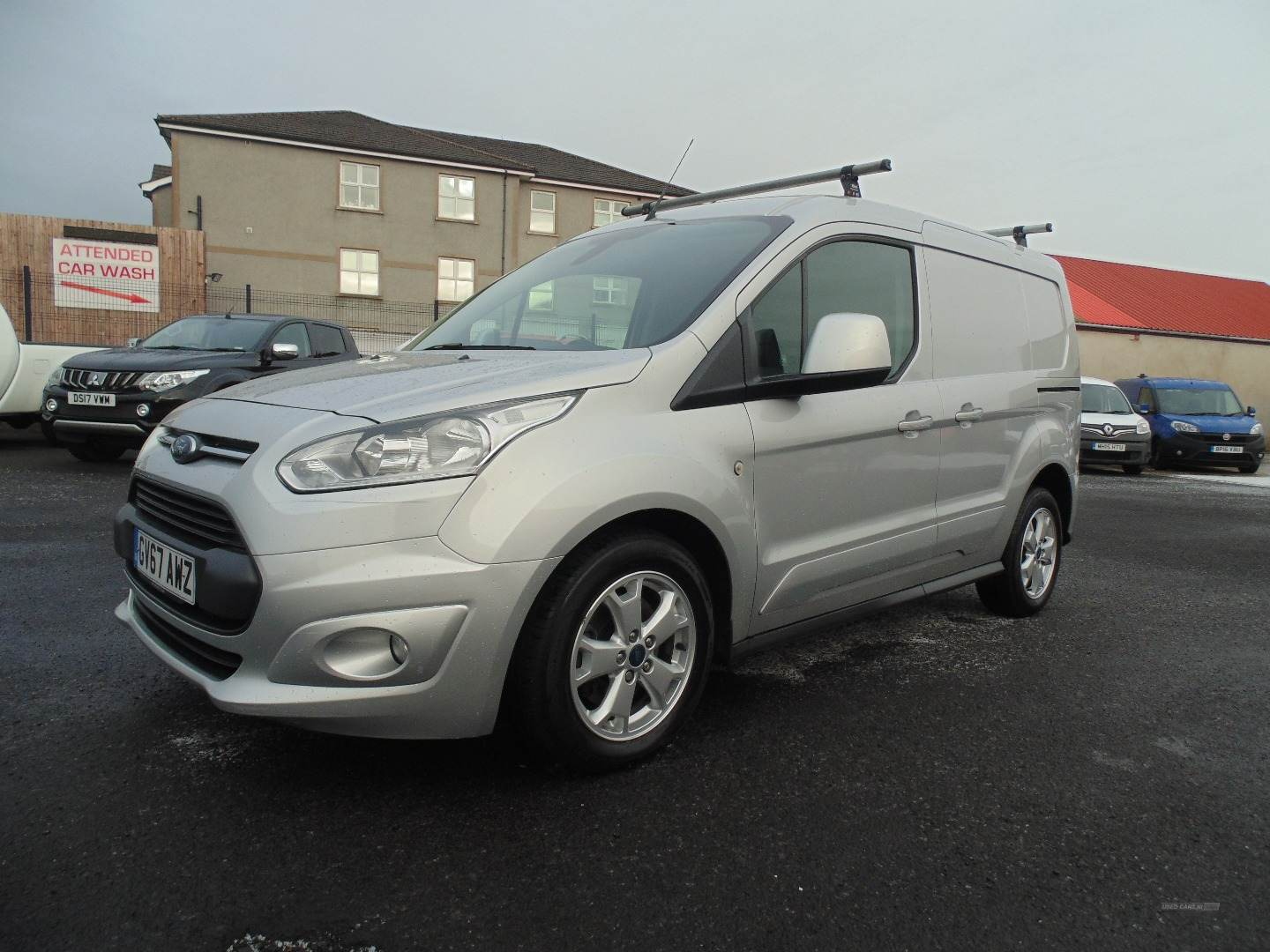 2018 Ford Transit Connect 1.5  TDCi  120ps  Limited  Van Diesel Manual  – Sam Creith Motors Ballymoney full