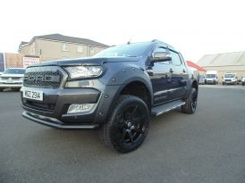 2019 Ford Ranger Pick  Up  Double  Cab  Wildtrak  3.2  TDCi  200  Auto Diesel Automatic  – Sam Creith Motors Ballymoney