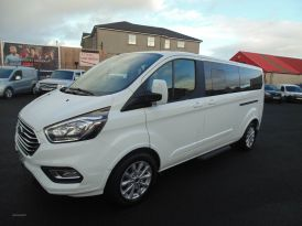2019 Ford Tourneo 2.0  EcoBlue  130ps  Low  Roof  8  Seater  Titanium Diesel Manual  – Sam Creith Motors Ballymoney